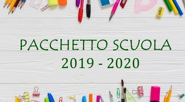 Risultati immagini per pacchetto scuola 2019/2020